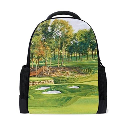 LIANCHENYI Sport Golf Course Mochila casual personalizada Mochila de viaje