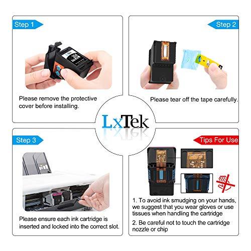 LxTek wiederaufbereitet 304XL als Ersatz für HP 304 304 XL Druckerpatronen für HP Envy 5010 5020 5030 5032 Deskjet 2620 2622 2630 2632 2633 2634 3720 3730 3733 3735 3750 3760 3762