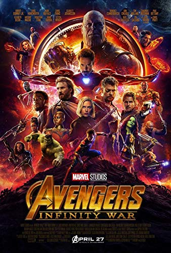 Import Posters The Avengers : Infinity WAR – US Movie Wall Poster Print - 30CM X 43CM