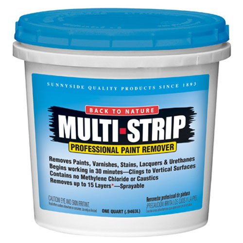 Sunnyside Back to Nature Multi-Strip Professional Paint & Varnish Remover, Quart, 65732