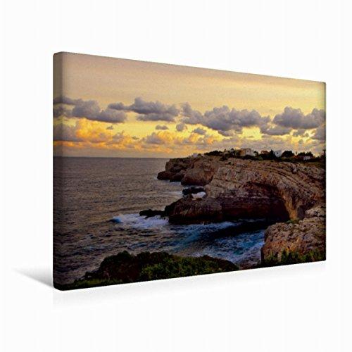 Premium Textil-Leinwand 45 x 30 cm Quer-Format Mallorca ohne Strand und Bikini | Wandbild, HD-Bild auf Keilrahmen, Fertigbild auf hochwertigem Vlies, Leinwanddruck von Manfred Spengler