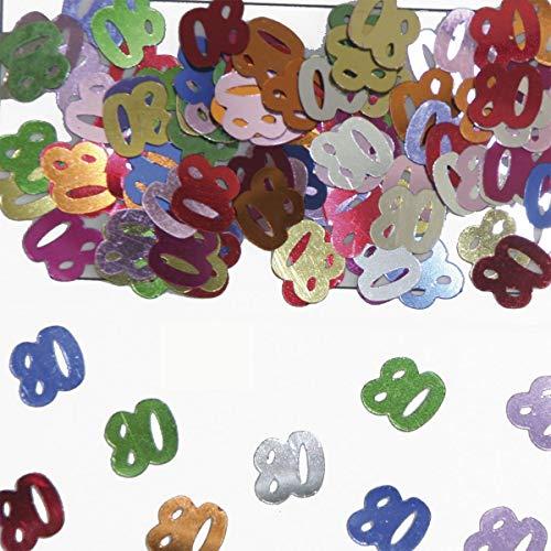 Folat Confettis de Table Motif Nombre