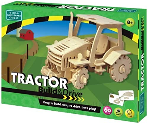 Build and Drive Tractor by The Grün Board Game Co.