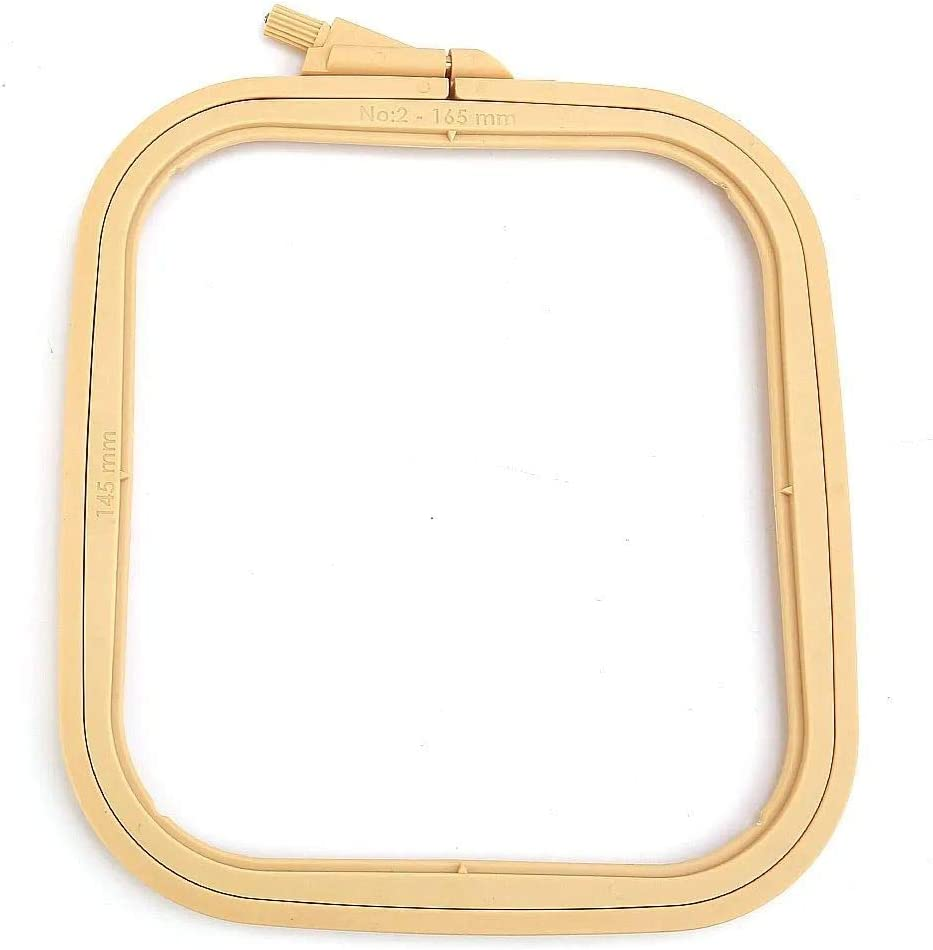 Hoops for Craft Projects X-Small Cross Stich Hoop Punch Needle Hoop Hobby Trendy Square Embroidery Hoops