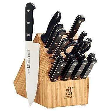 ZWILLING TWIN Gourmet Classic 18-pc Knife Block Set