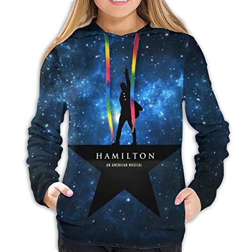maichengxuan Damen Musicals Hamilton 3D Gedruckt Hoodie Neuheit Mode Sweatshirt Gr. X-Large, Hamilton-003
