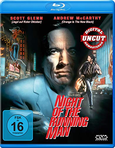 Night of the Running Man - Uncut [Blu-ray]