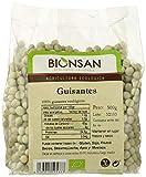 Bionsan Guisantes Ecológicos | Legumbres Naturales | 6 Bolsas de 500gr | Total 3000gr