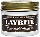 Layrite Superhold Pomade, 4.25 oz