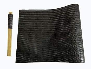 Shoe Sole Repair Rubber pad Half Soles wear-Resistant Anti-Skid Good Elasticity 22.44 X 14.96 inch Thickness 3.2mm Black