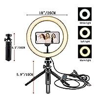 三脚のスタンドの授業の調光可能な写真撮影の照明のSelfie Ring Lampカメラ化粧写真 (Color : Type 5)