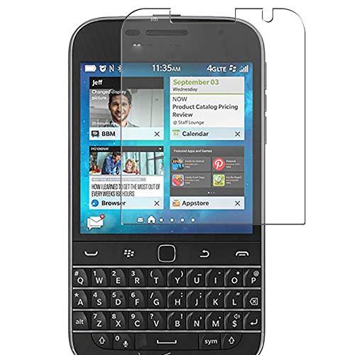 Vaxson 3 Stück Schutzfolie, kompatibel mit BlackBerry Classic Non Camera, Bildschirmschutzfolie TPU Folie [nicht Panzerglas]