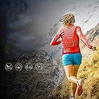 TRIWONDER Zaino Trail Running 2,5 L, Gilet da Corsa, Zainetto Ultraleggero da Ciclismo Corsa Escursionismo, Zaino Idratazione per Uomo Donna (Rosso - Solo Gilet, M/L) #6