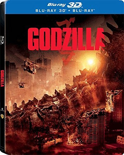 Godzilla [3D + Blu-ray] [Steelbook] English, Arabic, Bulgarian, Hebrew, Greek, Estonian, Indonesian, Chinese, Chinese (Cantones