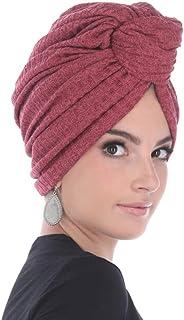 أغطية للرأس ماركة ماديسون للنساء، تتميز بعقدة أفريقية وخيط لوركس منسوج فاخر من أجل لمعان إضافي وراحة (وردة جافة/ملونة، مقا...