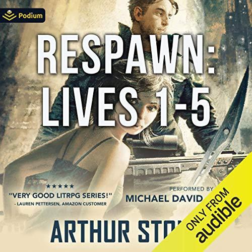 Respawn: Lives 1-5 audiobook cover art