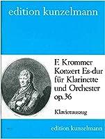 クロンマー : 協奏曲 変ホ長調 作品36 (クラリネット、ピアノ) クンツェルマン出版