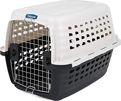 Petmate Compass Kennel, 20-30LBS, PEARL WHITE/BLACK, Model:41033