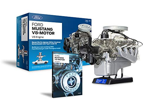 Ford 1965 Mustang V8 Engine Model Kit - Working Model Motor...