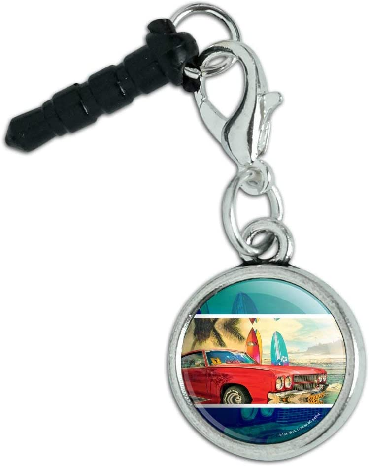 Red Classic New color Muscle Car Ranking TOP3 Beach with Phone Surf Mobile Cell Boards
