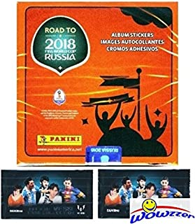 panini road to world cup 2018 stickers