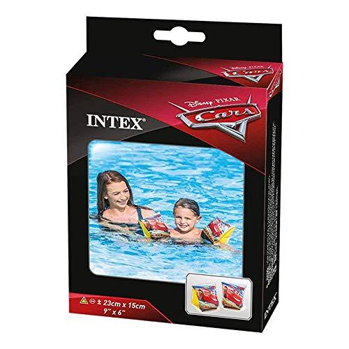 Intex 56652EU - Manguitos hinchables Cars 23 x 15 cm de 3 a 6 años