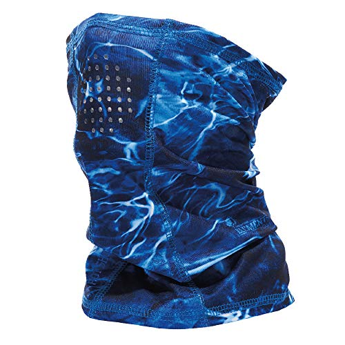 HOT SHOT Cooling Fishing Gaiter - UPF 50 Sun Protection – Breathable Face Mask