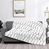 Ultra-Soft Micro Fleece Blanket Home Decor Warm Anti-Pilling Flannel Throw Blanket for Couch Bed Camp 60x50Inch,Side Boob