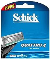 シック Schick クアトロ4 替刃(8コ入)