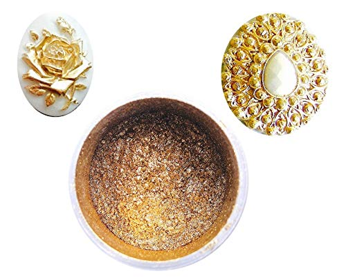 Gold Highlighter Dust 6grams for Cake Decorating. Polvo Oro Highlighter. Shine Highlighter for Dusting. Sunflower Sugar Art
