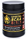 JNUTRITION SPARTAN BCAA 811 Aminoacidi ramificati 200 capsule, bcaa 8 1 1, bcaa 8.1.1, fermentazione vegetale naturale