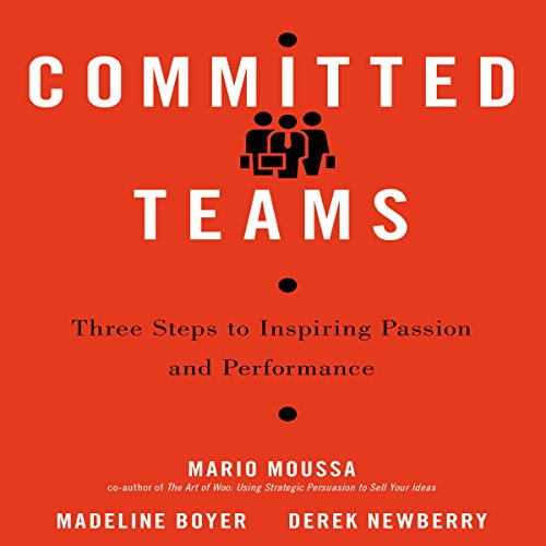 Committed Teams audiobook cover art