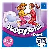Dodot Happyjama - Pañales para niñas de 8-12 años, tipo ropa interior absorbente, 13...