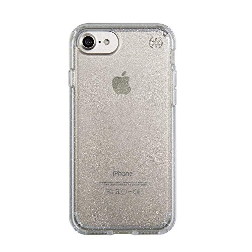Speck Presidio Clear Case - iPhone 7 Case, iPhone 6S Case, iPhone 6 Case - Patented Slim Protective Case