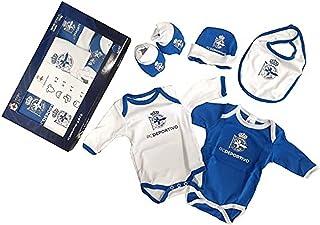 Real Club Deportivo de La Coruña Unisex Kid's Baby SFC Clothing Set, Multicolour (Azul Oscuro/Blanco Azul Oscuro/Blanco), ...