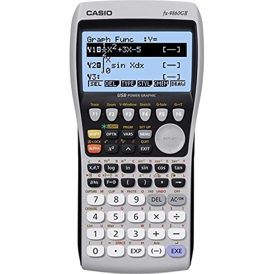 シーケンスグリル以前はCasio FX-9860GII 関数電卓プログラム可能なグラフィック LED FX9860GII [並行輸入品]