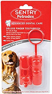 Petrodex Finger Toothbrush Dog and Cat, 2ct