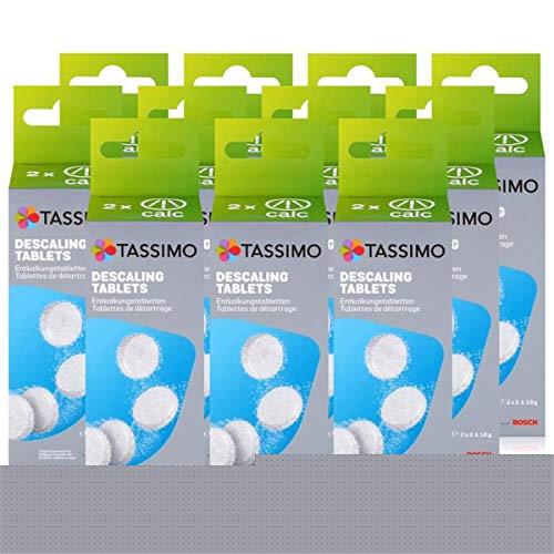 Bosch TCZ6004 Enkalkungstabletten für alle Tassimo Getränke-Automaten ( 11er Pack )