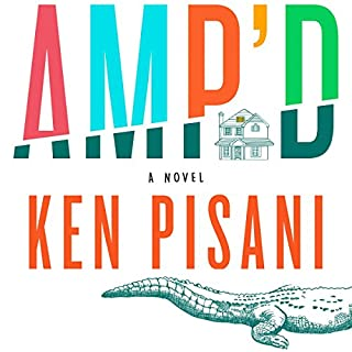 Amp'd audiobook cover art
