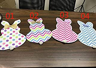 Canvas Canvas - 50pcs Lot Chevron Easter Garden Flag Decoration Canvas With Eva 12 18inch Sn1319 - Mats Bunny Easter Gravel Flag Kids Sand Day Bag Year