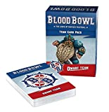 Games Workshop Blood Bowl - Seconde Saison - Paquete de Tarjetas de Equipo Enano