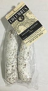Columbus Salame Company Artisan Salame Secchi Fiore 2 Pack (Approx. 9 Oz.)