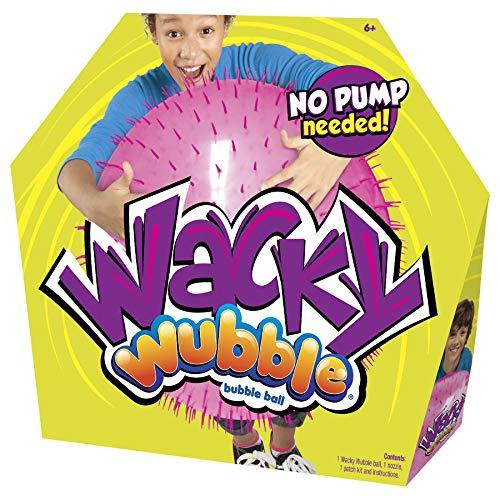 Wacky Wubble Bubble Ball, Pink, lustiges Outdoor-Spielzeug für Kinder ab 6 Jahren