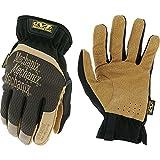 Mechanix Wear LFF-75-010 : DuraHide FastFit Leather Work Gloves (Large, Brown/Black)