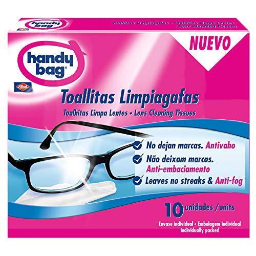Handy Bag - Toallitas limpiagafas - Envase individual - 10 unidades