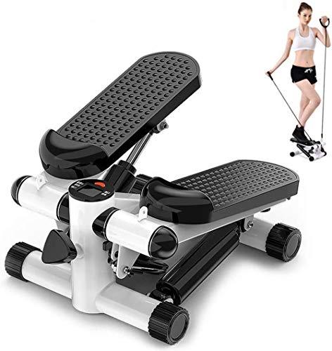 XIUNI Pedal Multifuncional Steppers Mini Equipo de la Aptitud silencioso caminadora Cubierta de Ciclo de Pasos Mini Bicicleta estática para los Ancianos Bajar de Peso Joven