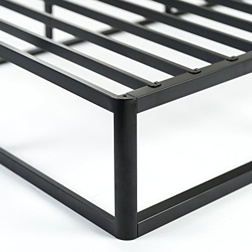 Zinus Victor 9 Inch Quick Lock High Profile Smart Box Spring / Mattress Foundation / Strong Steel Structure / Easy Assembly, Queen