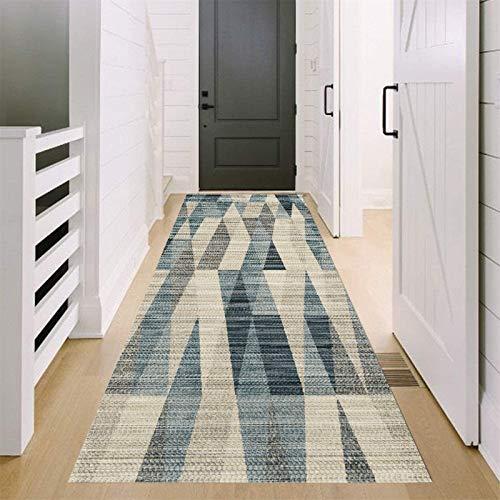 JIAWDYJ Corredor Alfombra para pasillos Alfombras de Cocina Sala Estar Dormitorio Escalera Larga Antideslizante,50X600cm