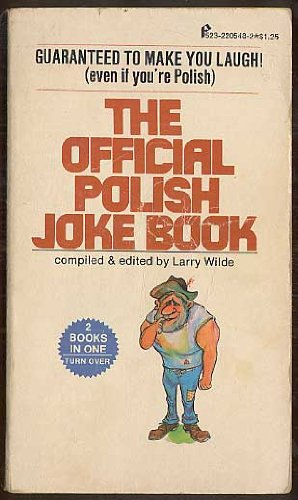 The Official Polish & Official Italian Joke Book; 2 Books in One
