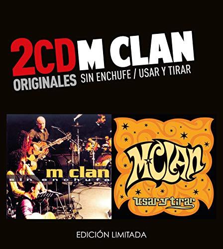 M-Clan -Sin Enchufe / Usar Y Tirar (2 CD)